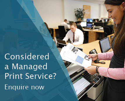Considered a managed print service enquire now HD