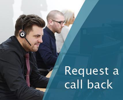 Request a call back HD